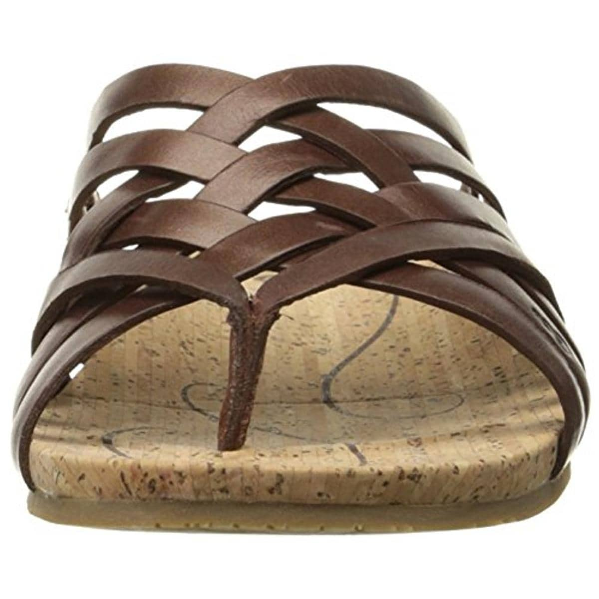 2938b2a39675 Shop Ahnu Womens Maia Thong Sandals Leather Crossover - Ships To Canada -  Overstock.ca - 13379096
