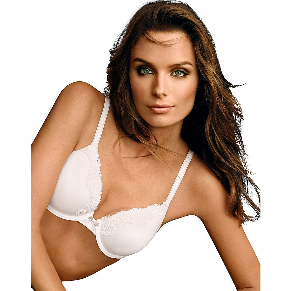 16526cc997f65 Maidenform comfort devotion extra coverage shirt bra size color white stone  free shipping on orders over
