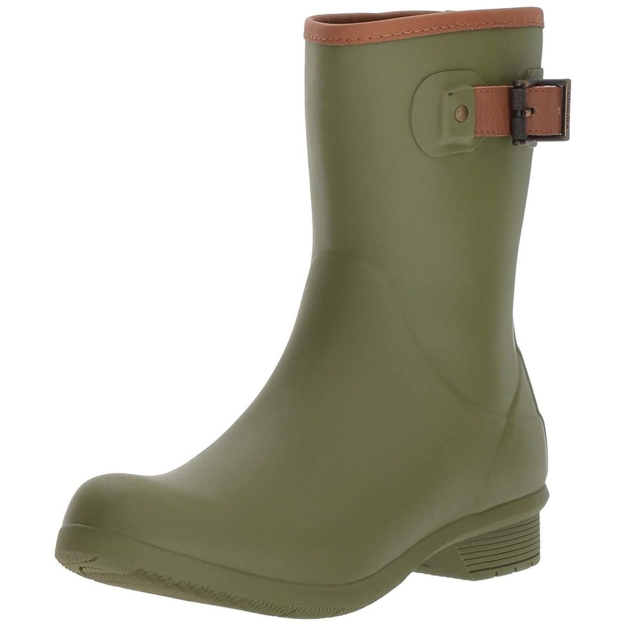046cf0e0897c Shop Chooka Women s Mid-Height Memory Foam Rain Boot - Free Shipping Today  - Overstock.com - 23591683