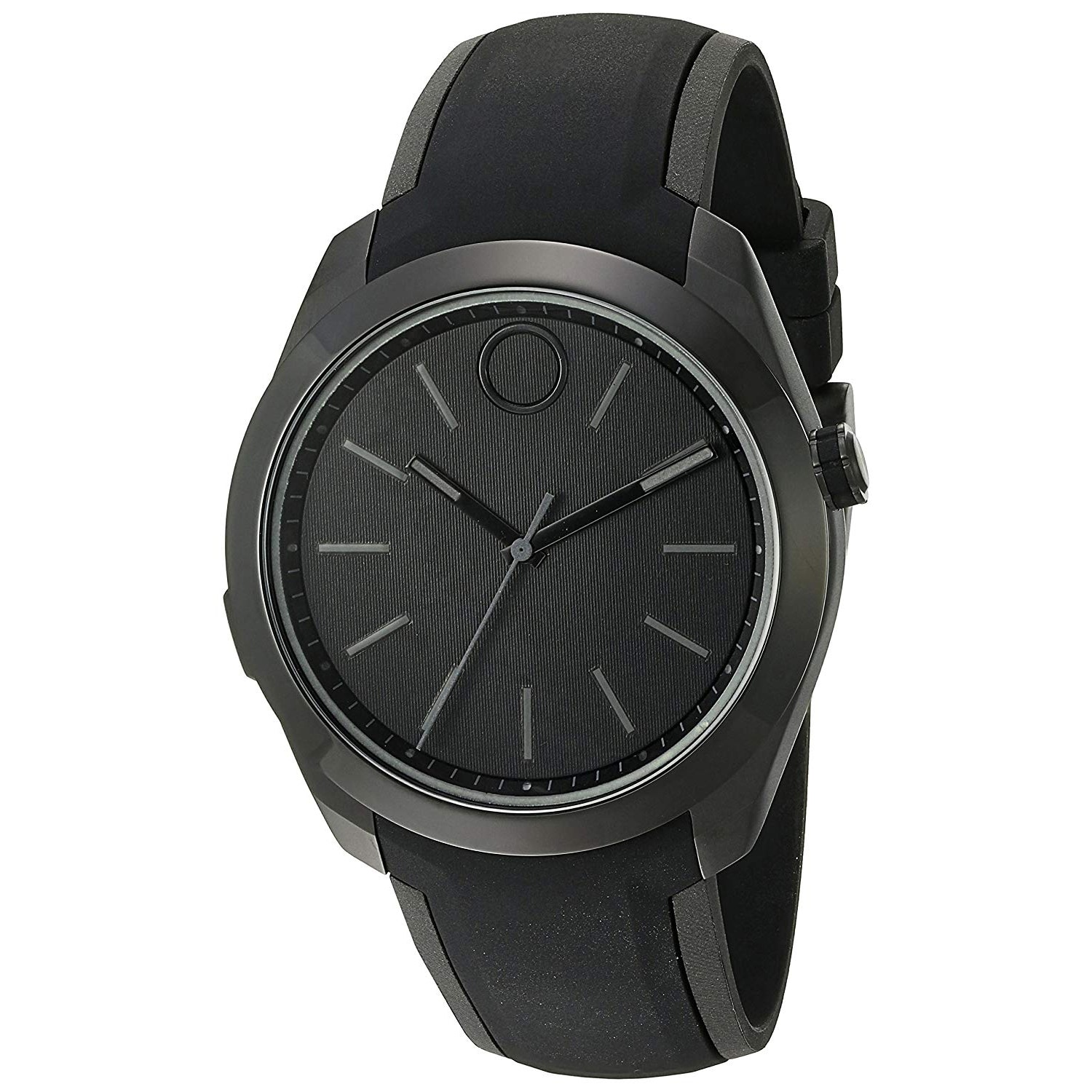 3c7fac0277db8 Shop Movado Men s Bold 3660002 Black Dial Watch - Free Shipping Today -  Overstock - 25452590