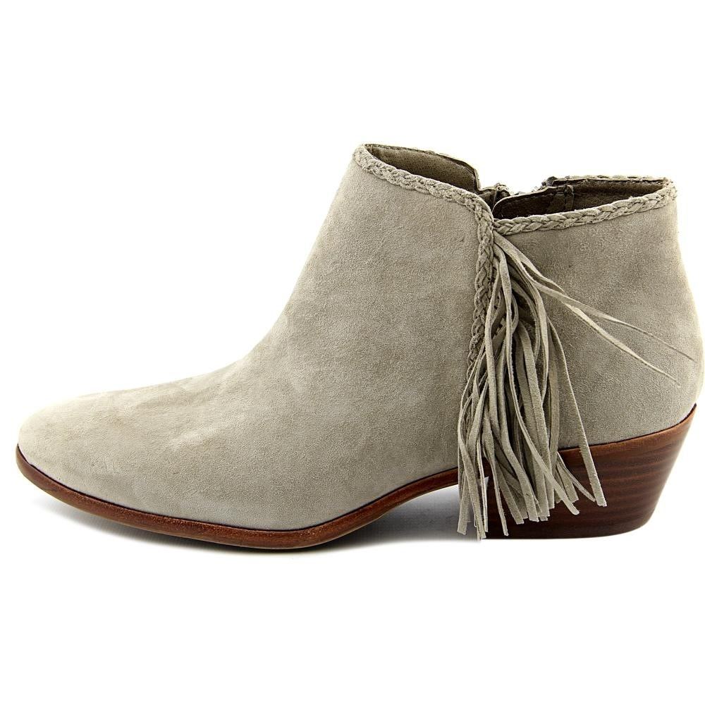 5ec82b3a6ac1ff Shop Sam Edelman Paige Women Round Toe Suede Gray Bootie - Free Shipping On  Orders Over  45 - - 15977131