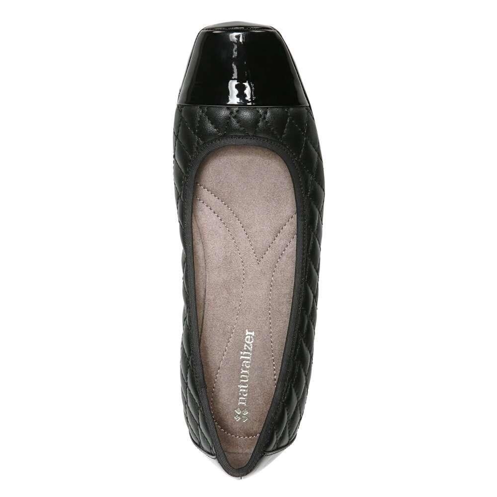 983b1410ee1e3 Naturalizer Womens Velma Cap Toe Ballet Flats