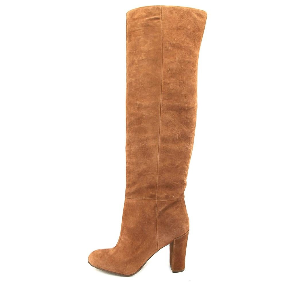 be0b8ce5fcd Shop Nine West Snowfall Women Round Toe Suede Brown Over the Knee Boot -  Free Shipping On Orders Over  45 - Overstock - 18955669
