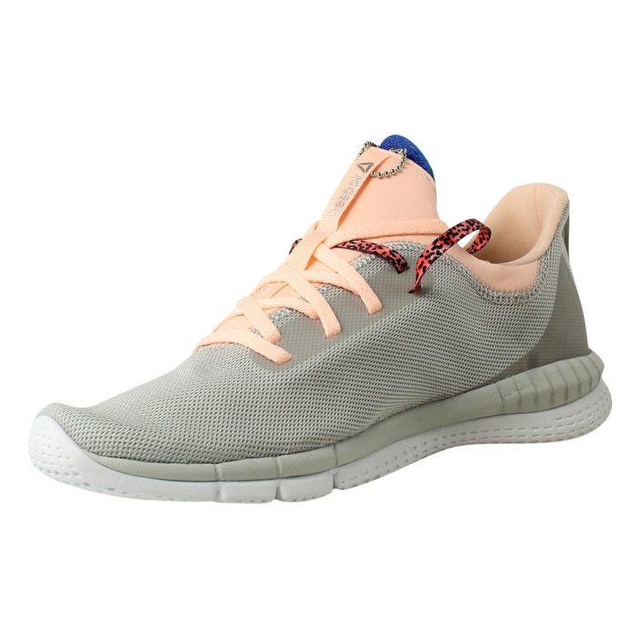 be903e8303f21a Shop Reebok Womens Print Her 2.0 Gr Gr-SkullGrey PeachTwist White Running  Shoes - On Sale - Free Shipping On Orders Over  45 - Overstock - 23123645