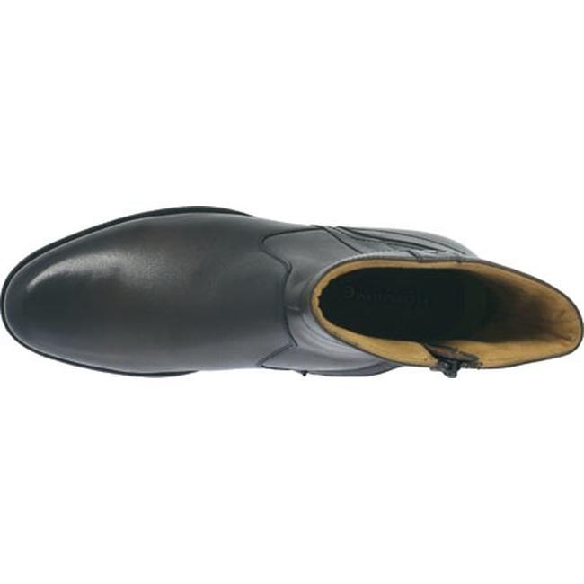 22b428ef2fd Florsheim Men's Midtown Plain Toe Zip Boot Black Smooth Leather