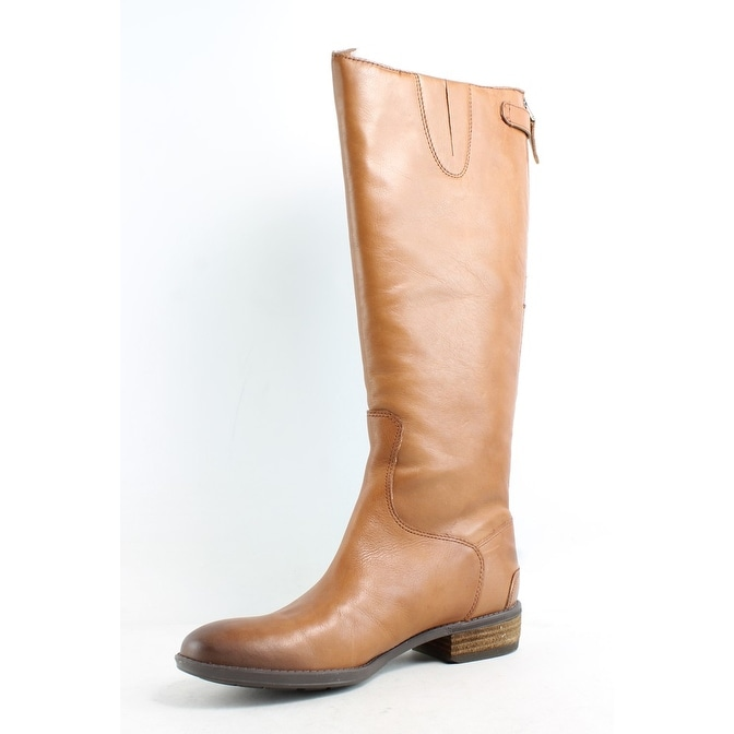 df67508be Shop Sam Edelman Womens Penny Whiskey Leather Riding Boots Size 6.5 ...