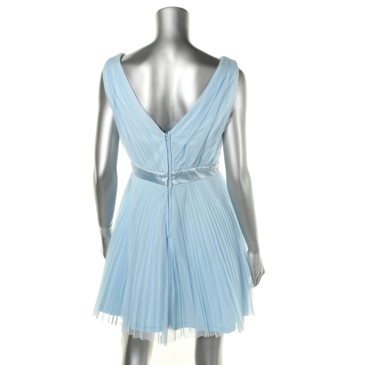 f2253464217 Shop Teeze Me Womens Juniors Party Dress Mesh V-Neck - Free Shipping On Orders  Over  45 - Overstock - 14589004