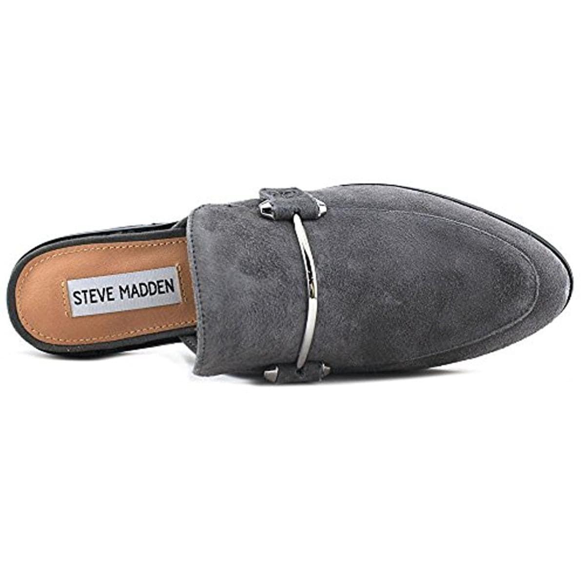 a0d34ae4d09 Steve Madden Womens Laaura Mules Embellished Almond Toe