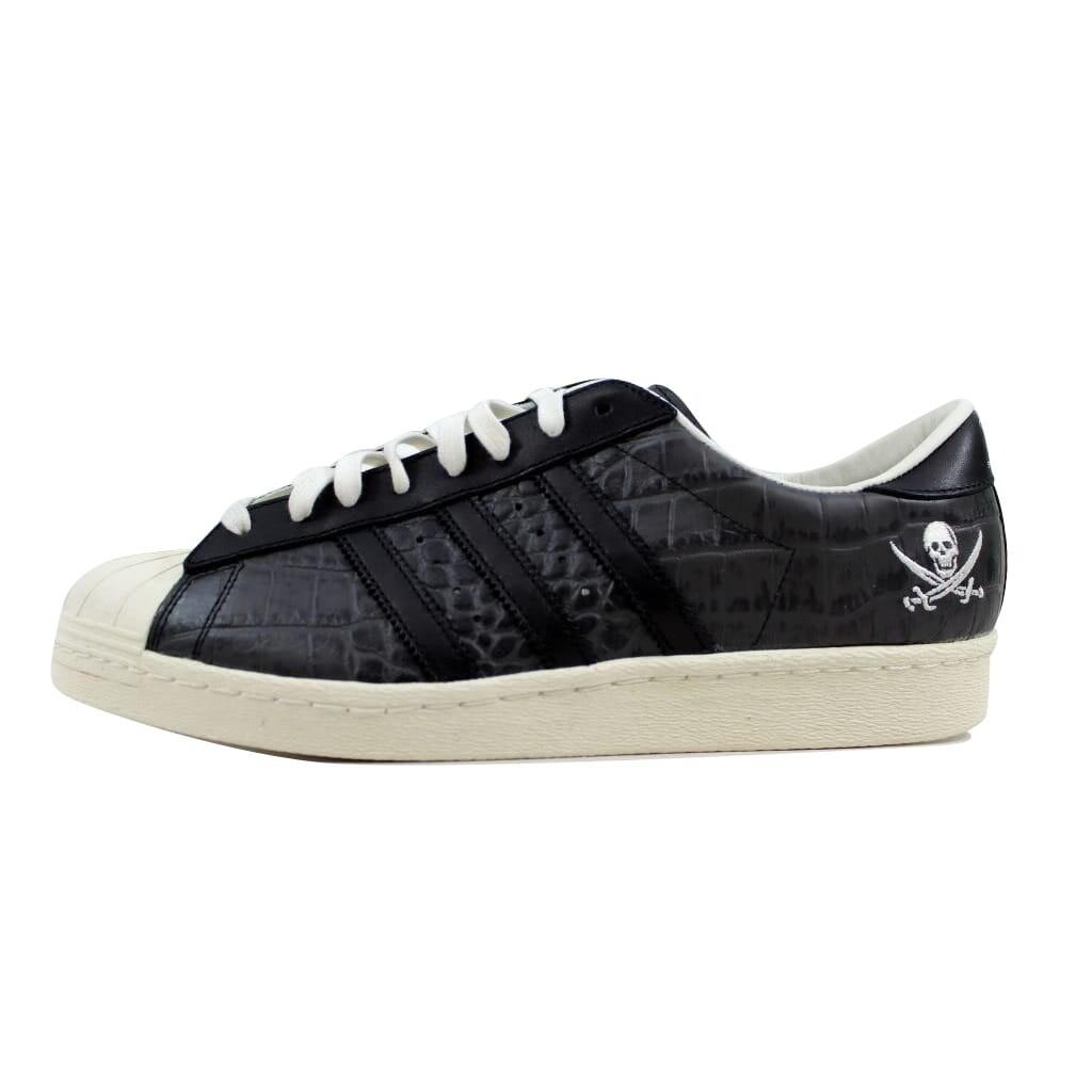 Adidas Men's Superstar 80v NBHD BlackBlack White B34070 Size 12