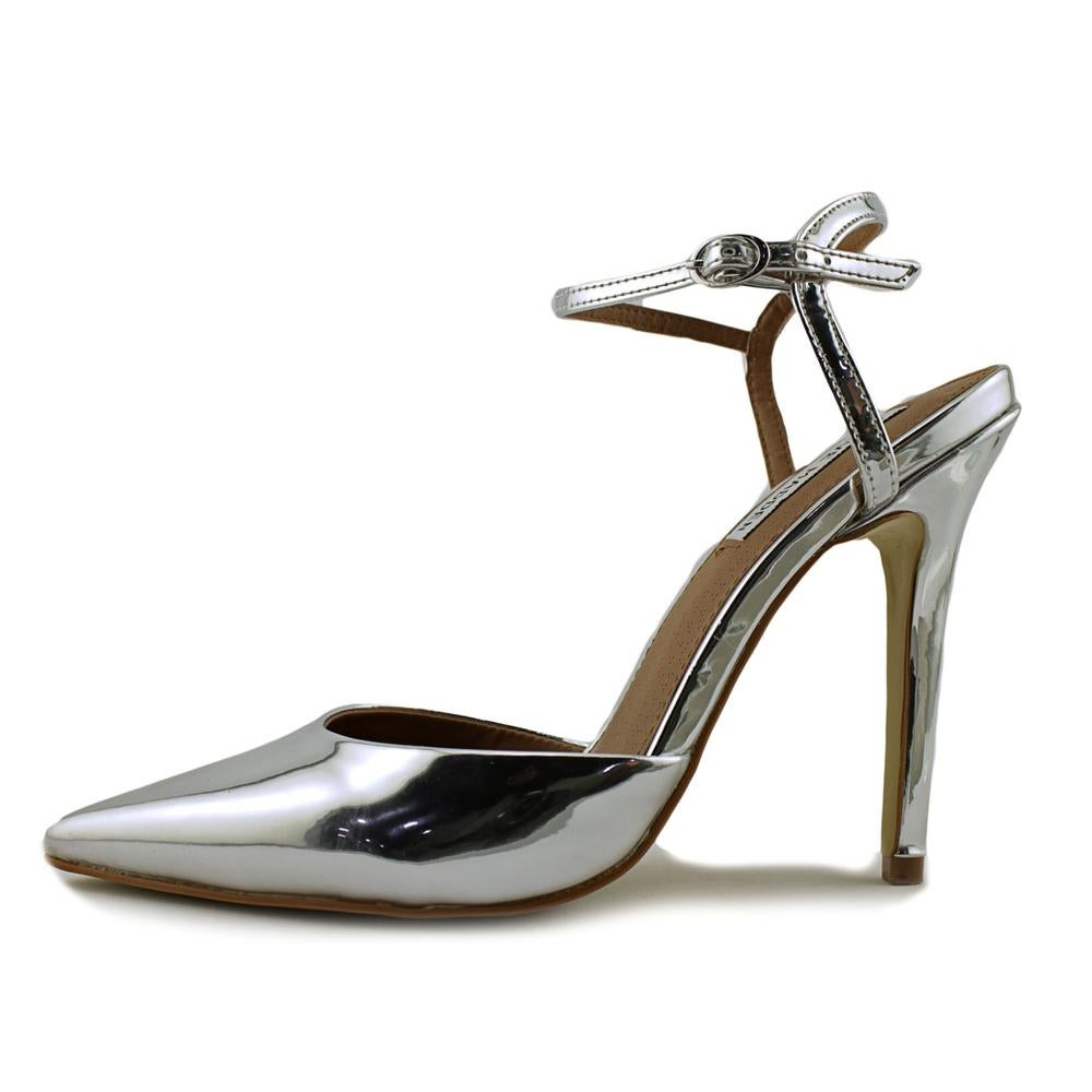 1ae95d13317 Shop Steve Madden Pizzel Women Pointed Toe Synthetic Silver Heels - Free  Shipping Today - Overstock - 16982264