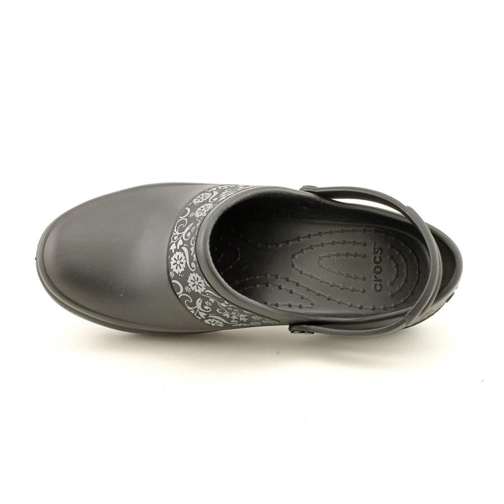 9a29f3cfe Shop Crocs Mercy Work Women Round Toe Synthetic Black Clogs - Free Shipping  On Orders Over  45 - Overstock - 16420114