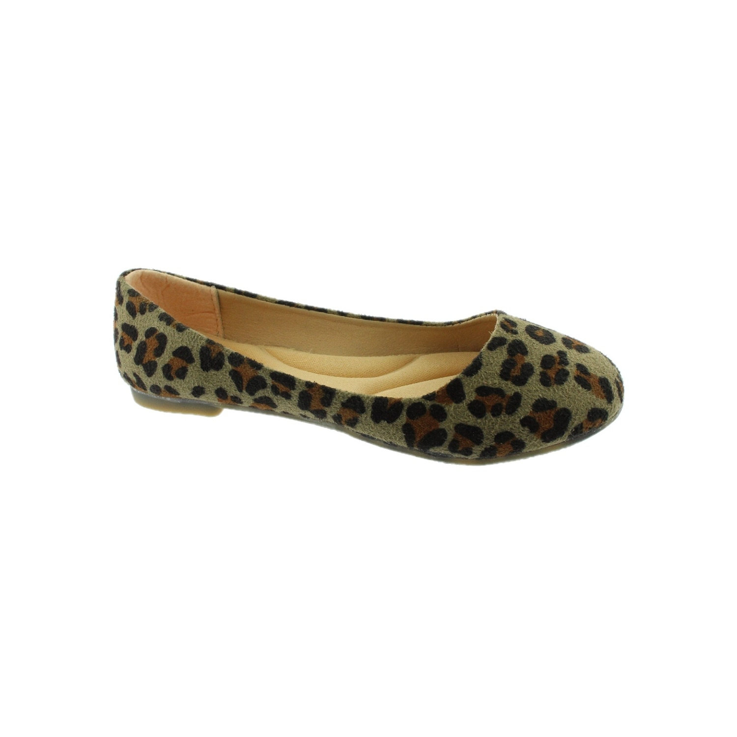 463c8ad0e Shop Women Leopard Rounded Tie Slip On Trendy Ballet Flats - Free Shipping  On Orders Over $45 - Overstock - 26521538