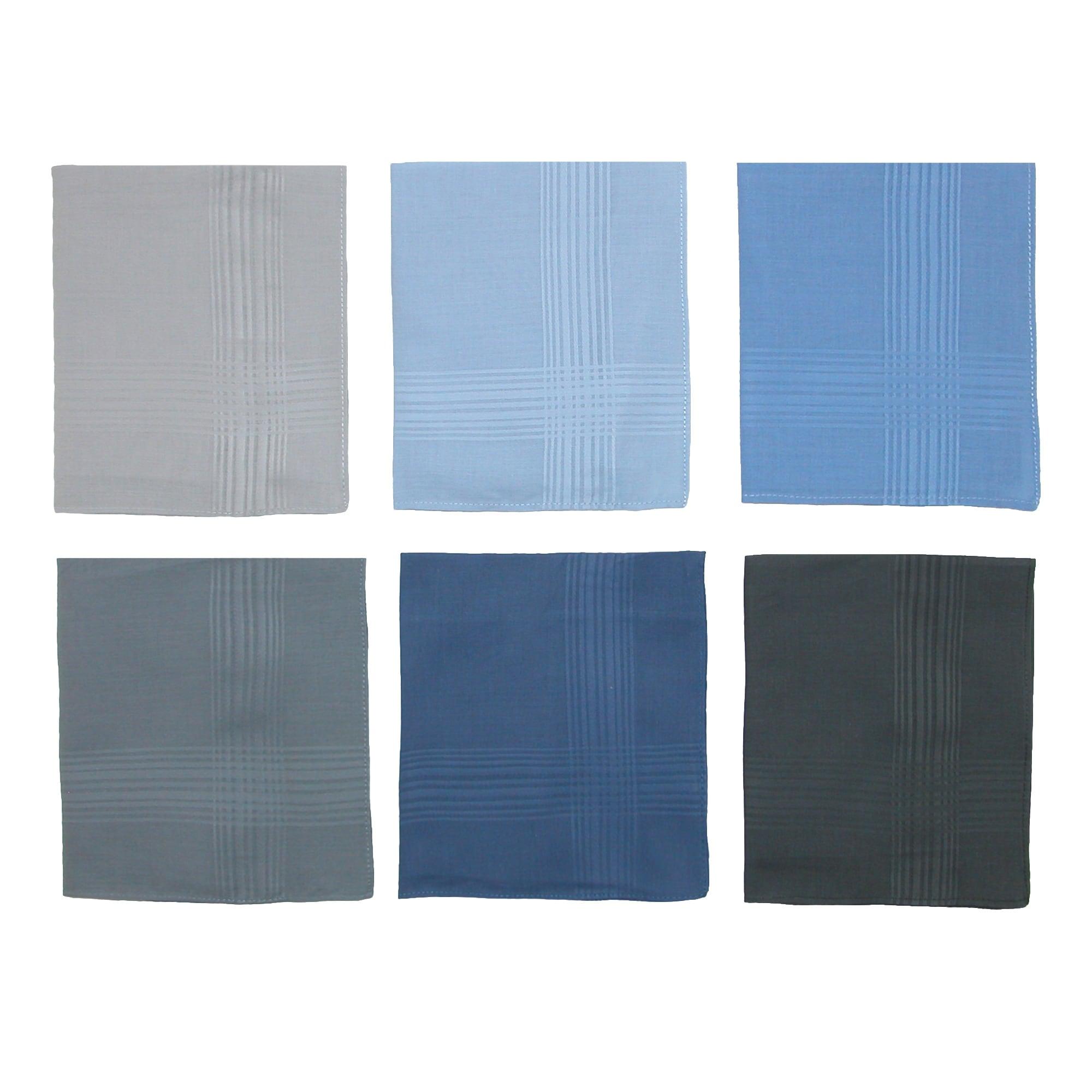 Shop Umo Lorenzo Men\'s Cotton Multi-Color Dress Handkerchief Set ...