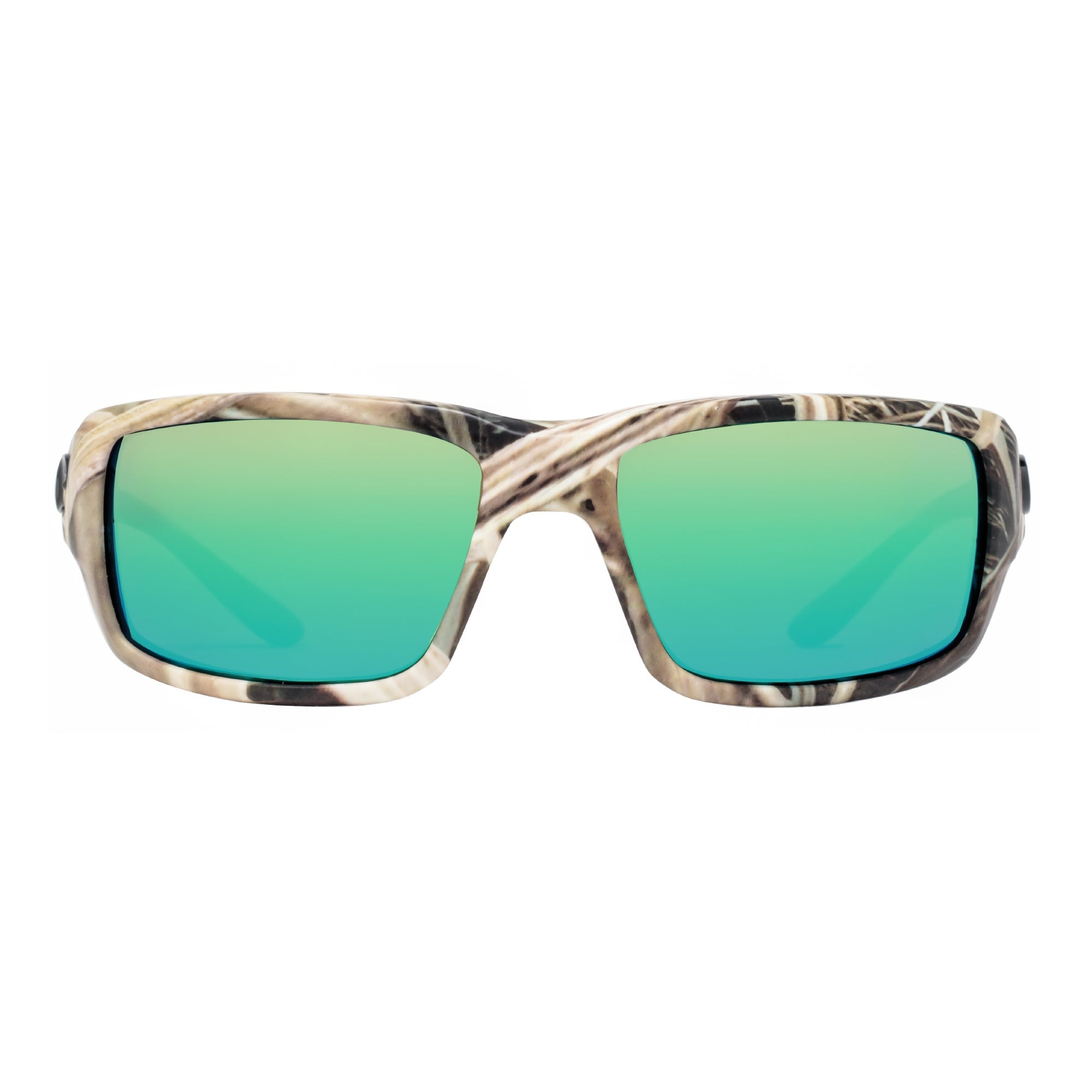 f82bd81a9 Shop Costa Del Mar Fantail TF65OGMP Mossy Oak Camo 580P Green Mirror Wrap  Sunglasses - mossy oak grass camouflage - 59mm-18mm-120mm - Free Shipping  Today ...