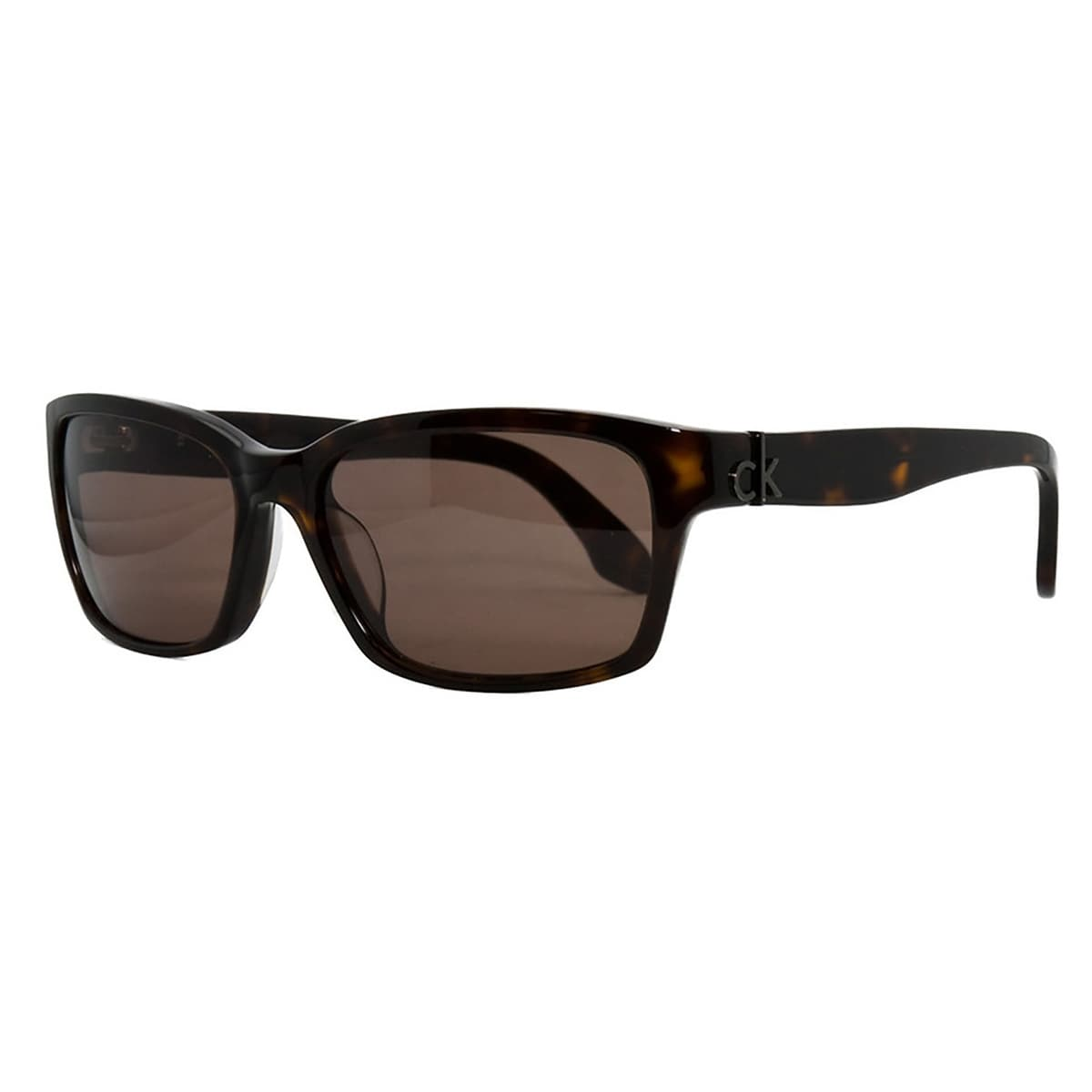 5597ce921b21 Shop Calvin Klein CK 4184 S 004 Havana Rectangular Sunglasses [Apparel] -  Free Shipping On Orders Over $45 - Overstock - 13402317