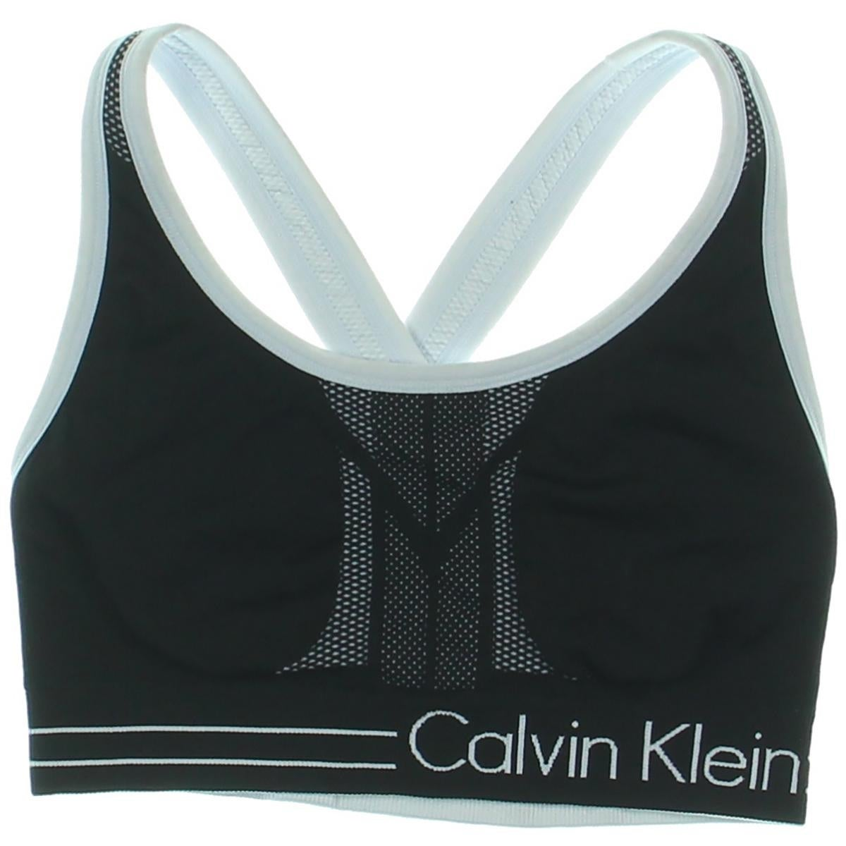 644c500f2fb95 Shop Calvin Klein Performance Womens Sports Bra Medium Impact Reversible -  Free Shipping On Orders Over  45 - Overstock - 17284719