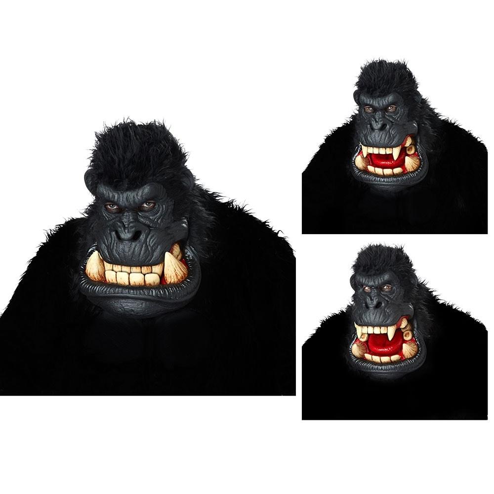 shop adult killa gorilla ani-motion halloween mask - standard - one