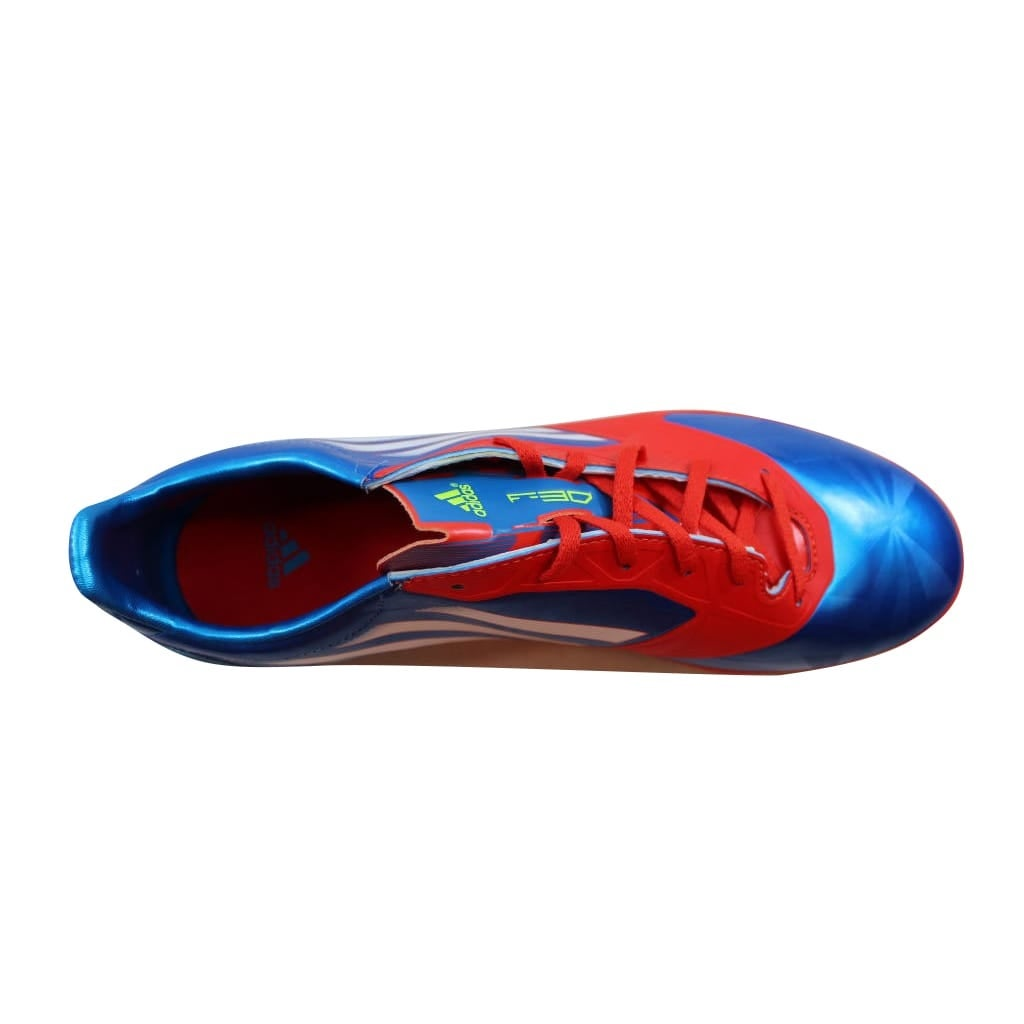 36beca7e35bb Shop Adidas F30 TRX Fg SYN Blue/White-Red V24847 Men's - Free Shipping  Today - Overstock - 21893967