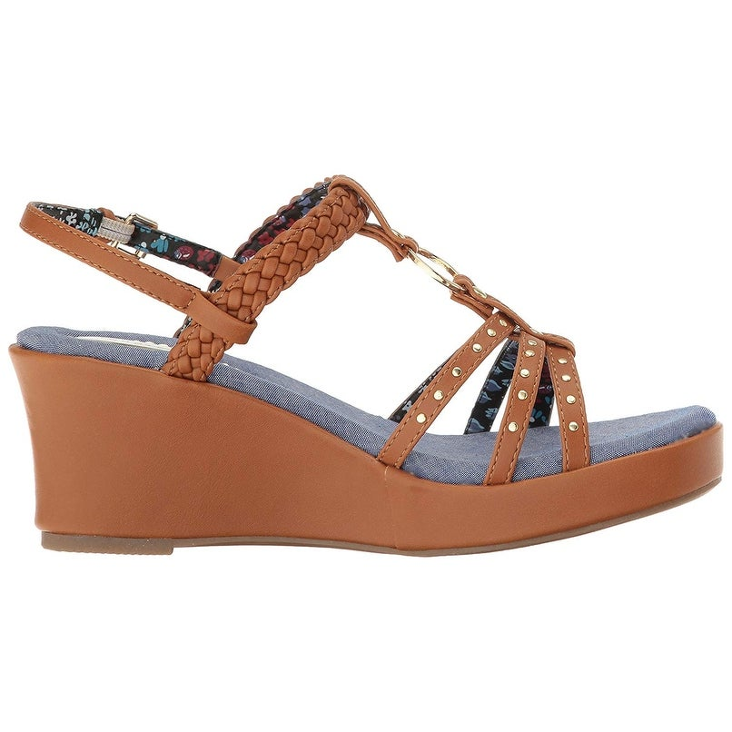 c9d1a07a5c93c6 Shop Tommy Hilfiger Kids Kids  Desiree Rope Wedge - cognac - Free Shipping  On Orders Over  45 - Overstock.com - 25457618