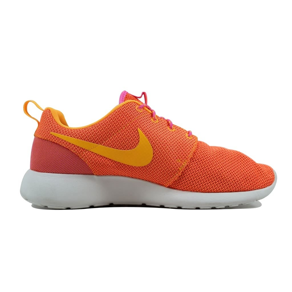 low priced 550a0 9f551 Shop Nike Women s Rosherun Pink Glow Atomic Mango-Summit White-Volt  511882-607 Size 11.5 - Free Shipping Today - Overstock - 21893065