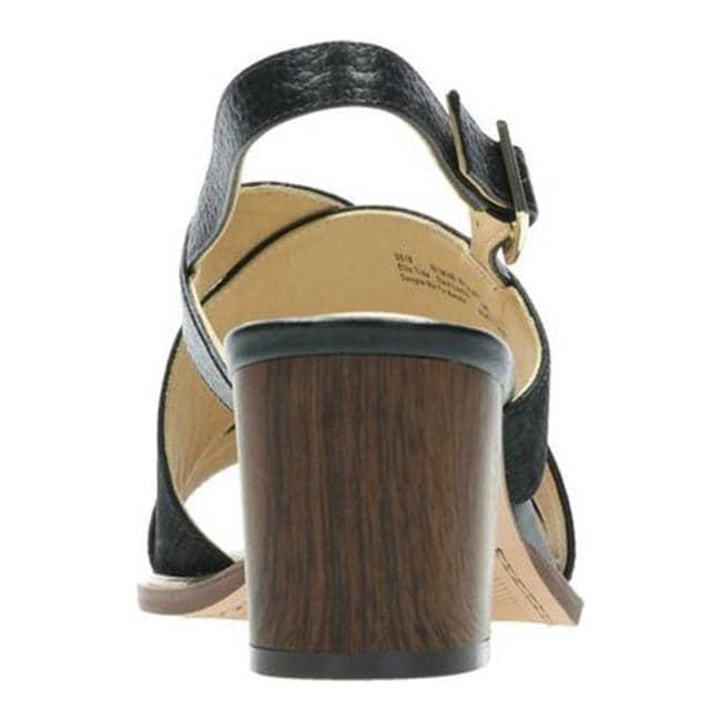 2872bb858a4b Shop Clarks Women s Ellis Tilda Heeled Sandal Black Leather - Free Shipping  Today - Overstock - 27346953