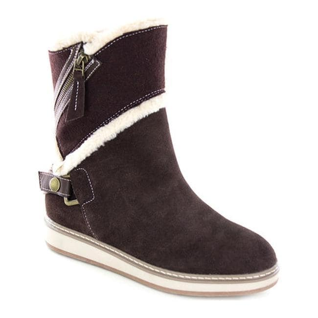 62db8c5f1a3 White Mountain Women's Teague Winter Boot Whiskey Suede