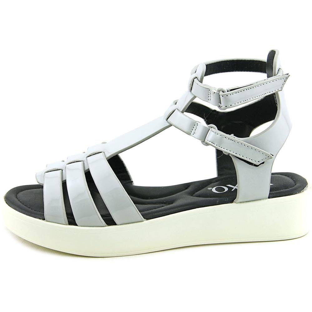 XOXO Lennie Women Grey Sandals - Free Shipping On Orders Over $45 -  Overstock.com - 21272725