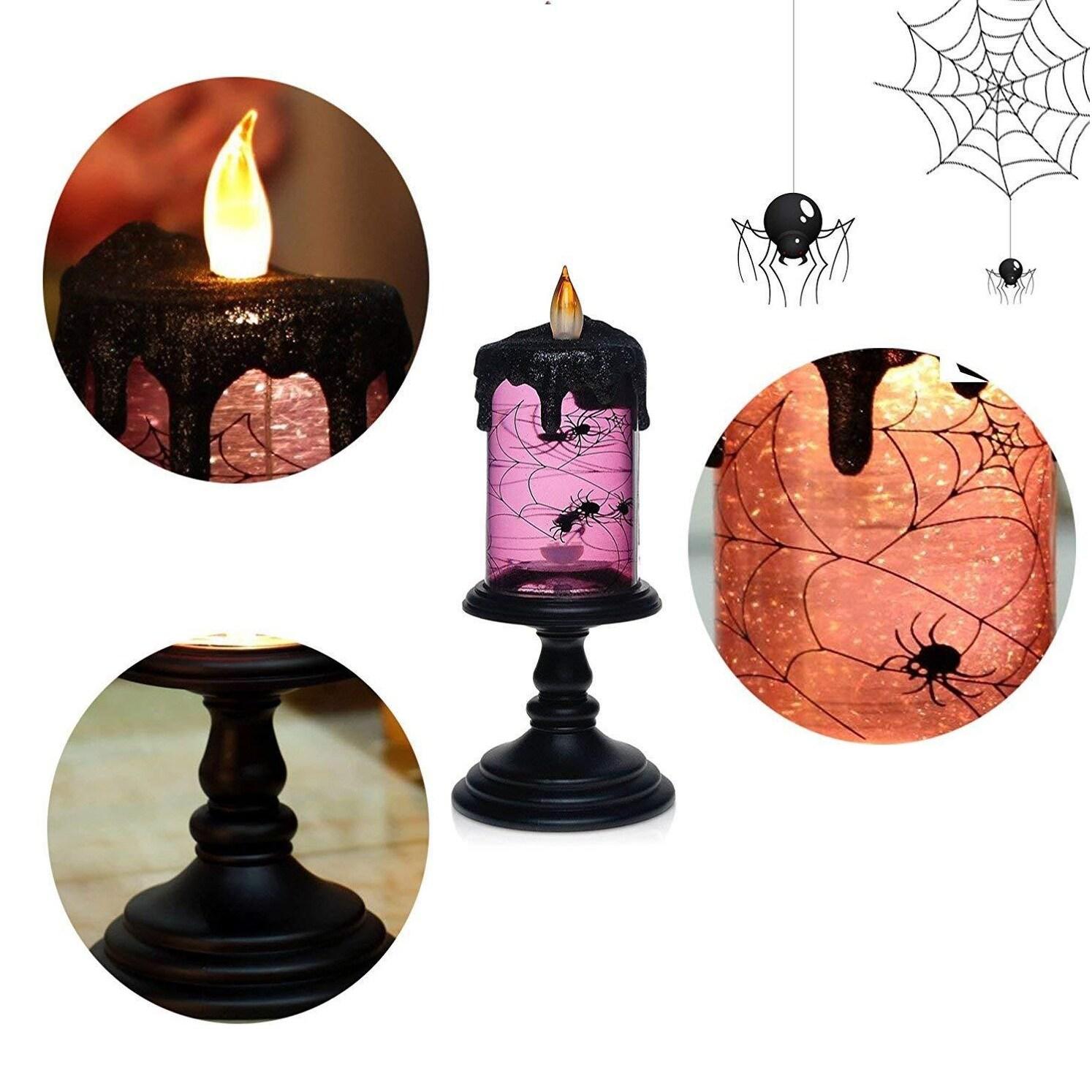 shop halloween rotating tornado led lighting flameless candle