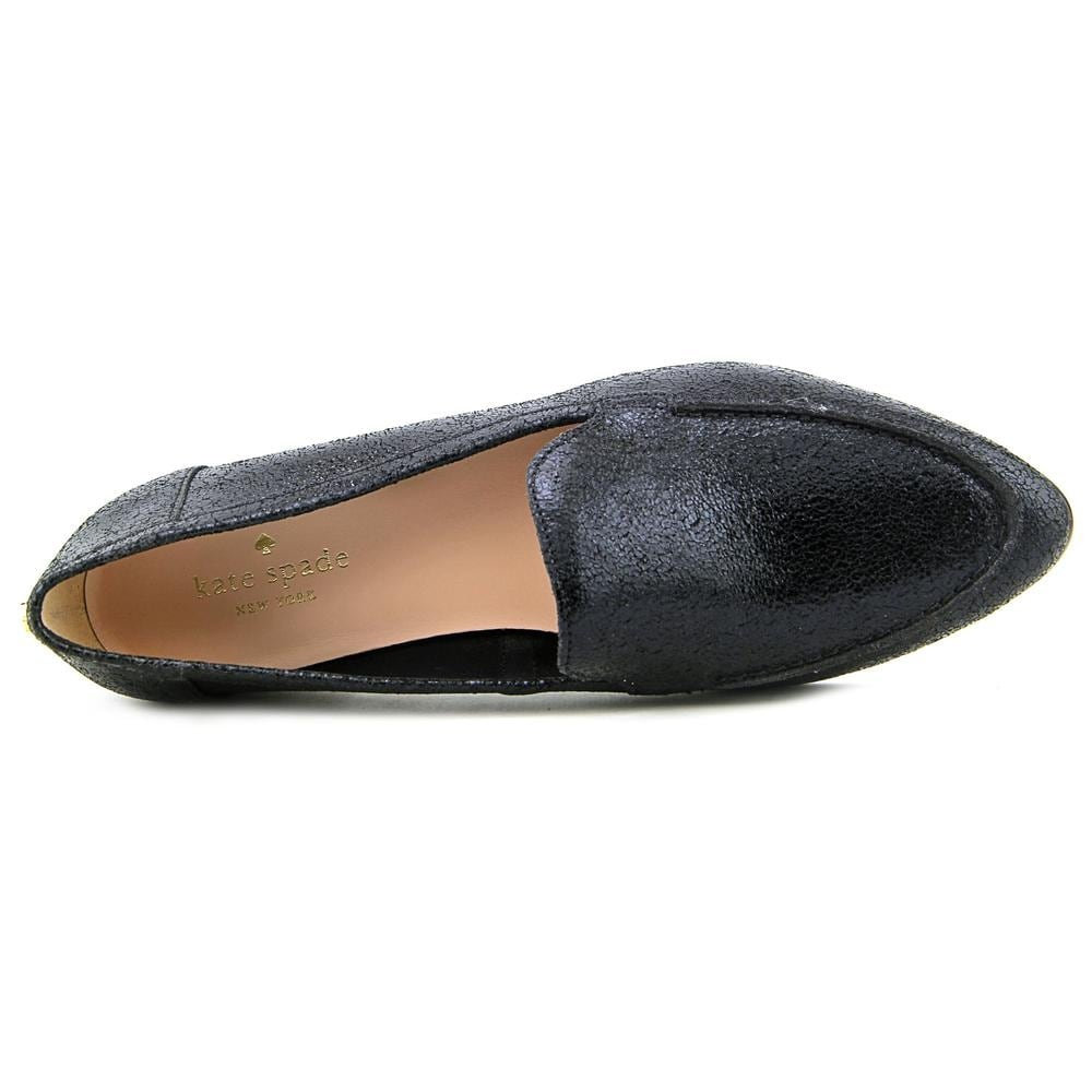 3a18602506be Shop Kate Spade Carima Women Pointed Toe Leather Black Flats - Free  Shipping Today - Overstock - 13630759