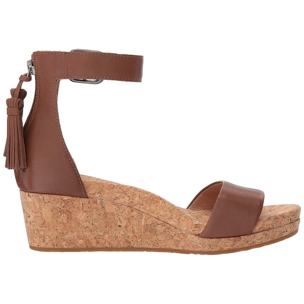 5edf7fc880f Shop UGG Women s Zoe Wedge Sandal - Free Shipping Today - Overstock -  22377383