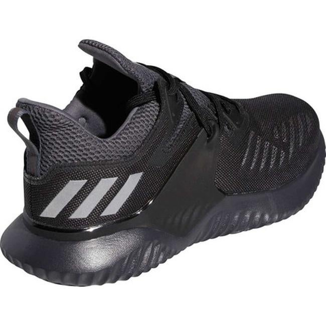 ecdad0ccf Shop adidas Men s Alphabounce Beyond 2 Running Shoe Core Black Silver Met Carbon  - Free Shipping Today - Overstock - 26566785