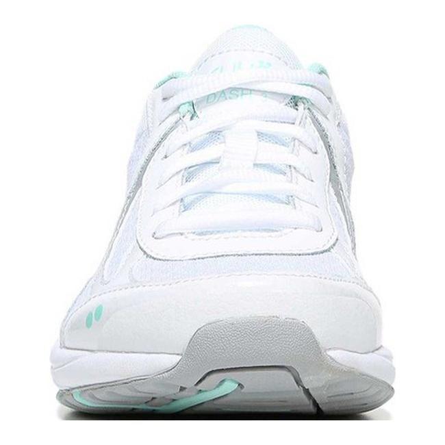 b7a39cdf966d7b Shop Ryka Women s Dash 3 Walking Shoe White Chrome Silver Yucca Mint - Free  Shipping Today - Overstock - 18911066