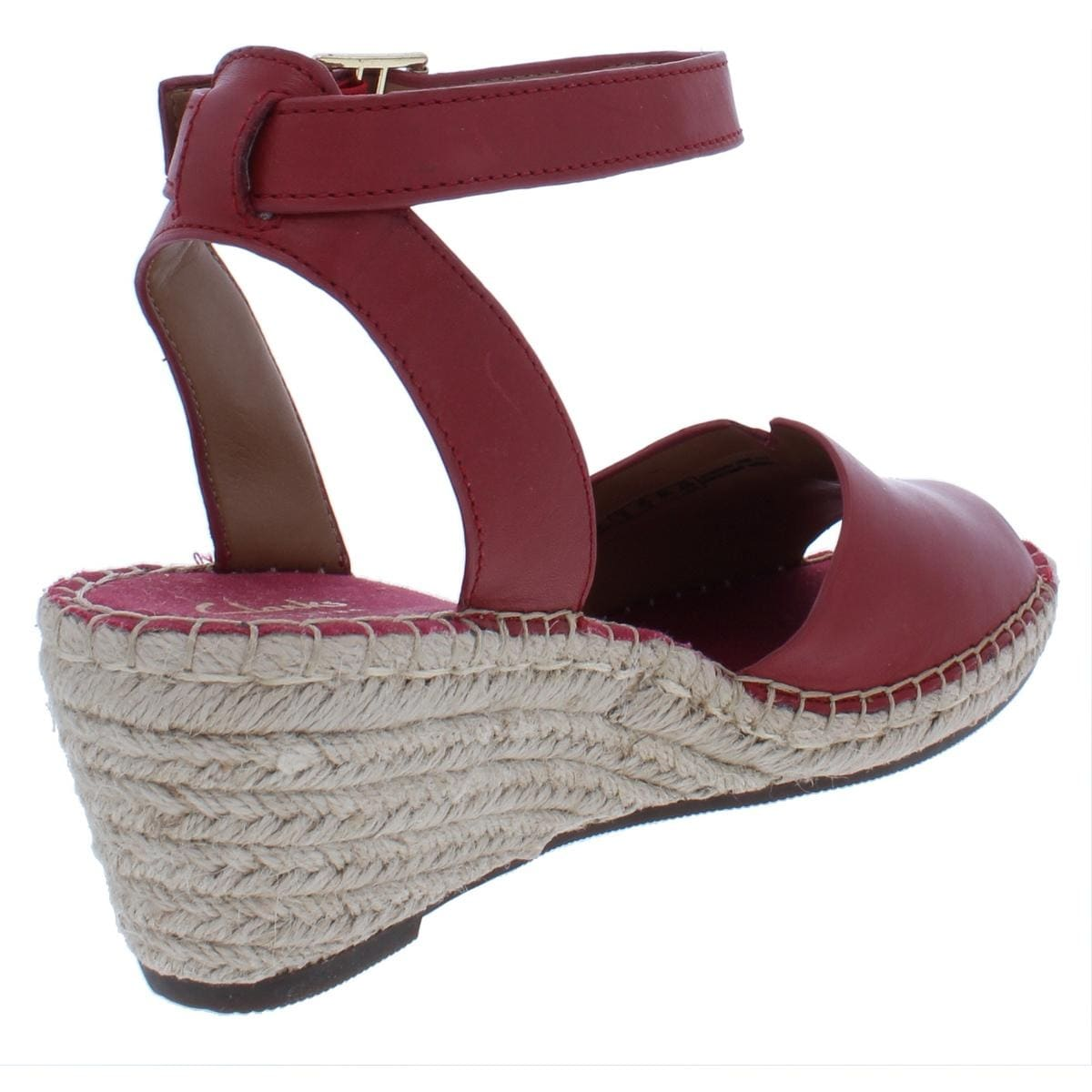 98708cc0877 Shop Clarks Womens Petrina Selma Wedge Sandals Leather Espadrilles - Free  Shipping Today - Overstock - 25400101