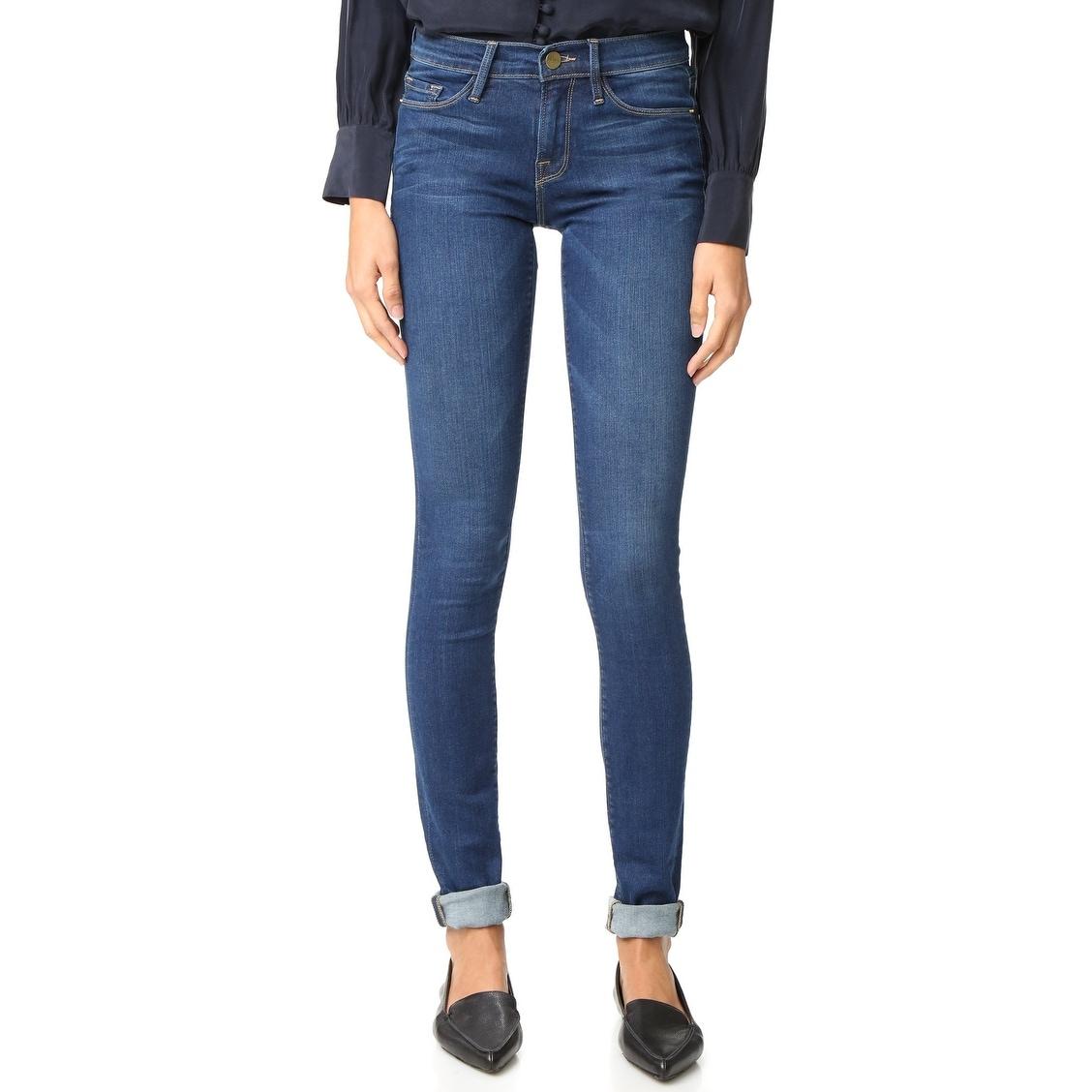 Shop Frame Denim NEW Womens Size 24x36 Forever Karlie Tall Skinny ...
