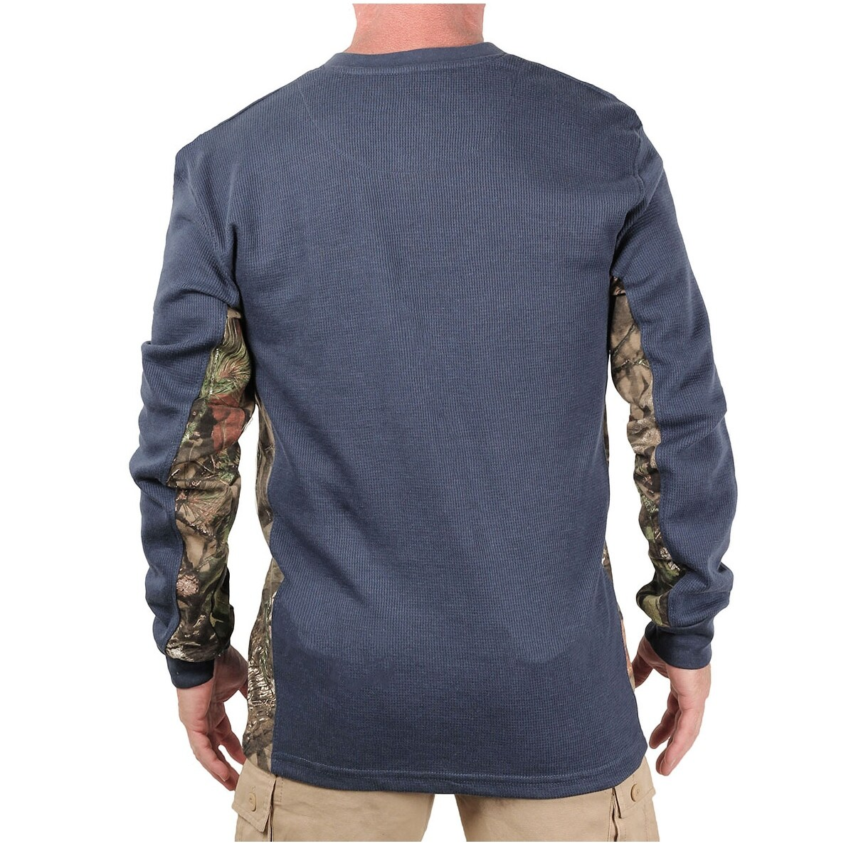 51748ec69bab5 Shop Mossy Oak Men's Thermal Henley Shirt - Free Shipping On Orders ...