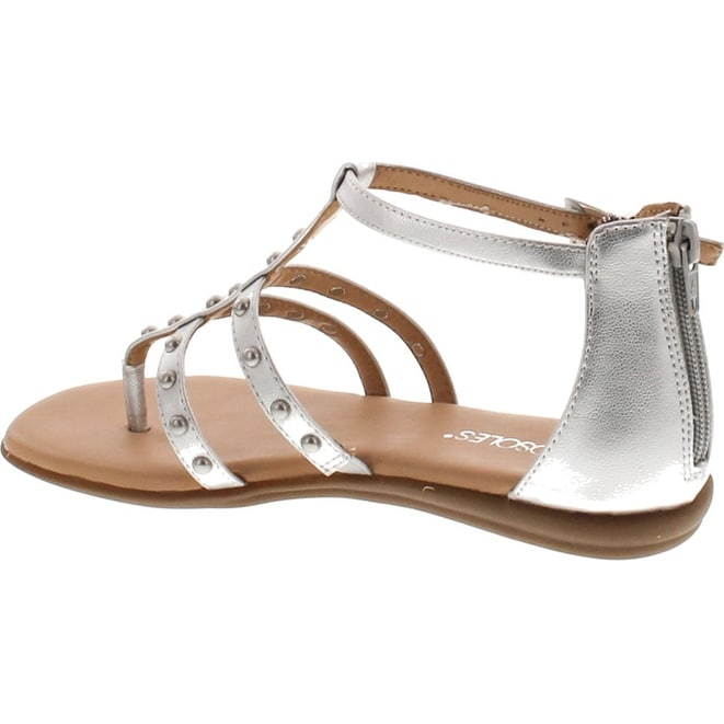 a8576af1bd2d Shop Aerosoles Women s Social Chlub Gladiator Sandal - Silver - Free  Shipping On Orders Over  45 - Overstock - 20908777