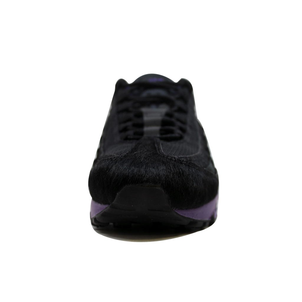 01ae0c2d28c Shop Nike Men s Air Max  95 Black Black-Club Purple Attack Pack 609048-025  - Free Shipping Today - Overstock - 19507610