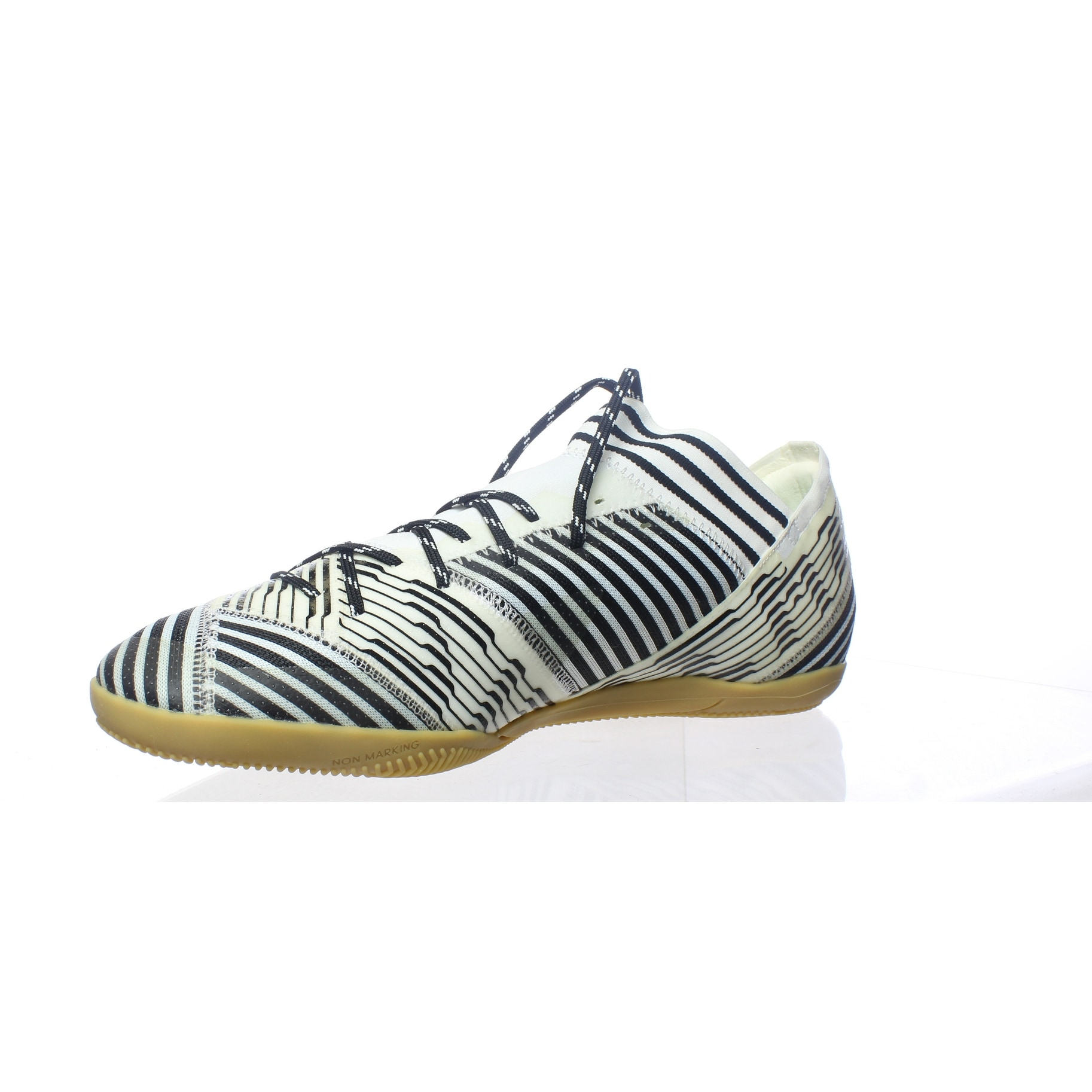 926fbdbbb09 Shop Adidas Mens Nemeziz White Indoor Soccer Shoes Size 12 - Free Shipping  Today - Overstock - 27993450
