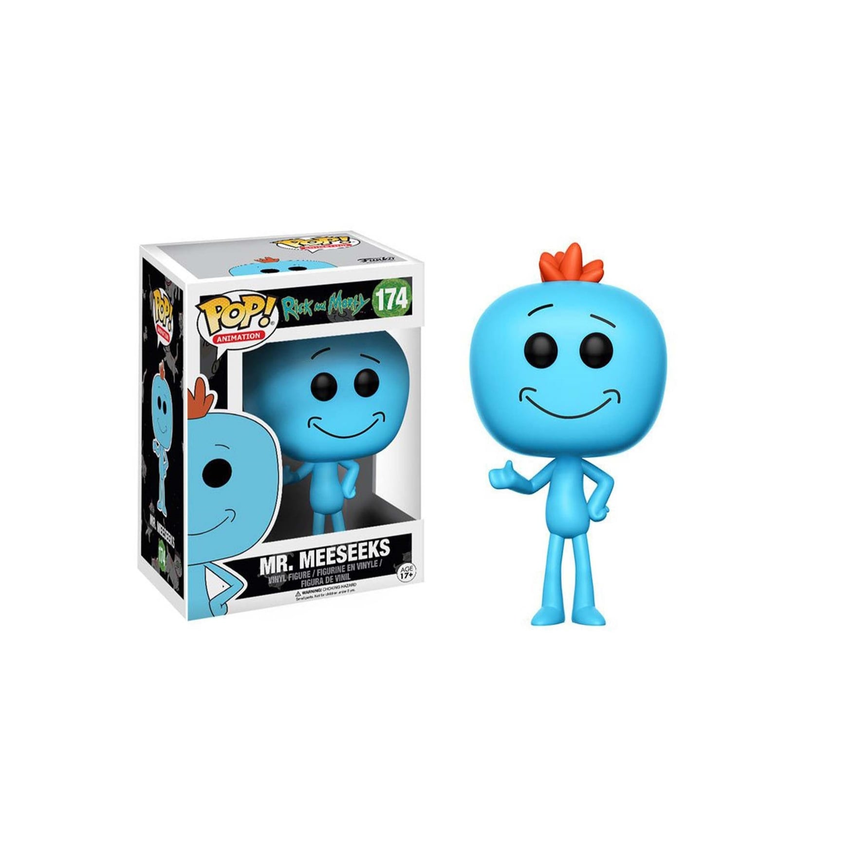 17c563e84ad Shop Rick and Morty Mr. Meeseeks POP! Vinyl Figure - Free Shipping On  Orders Over  45 - Overstock - 19885593