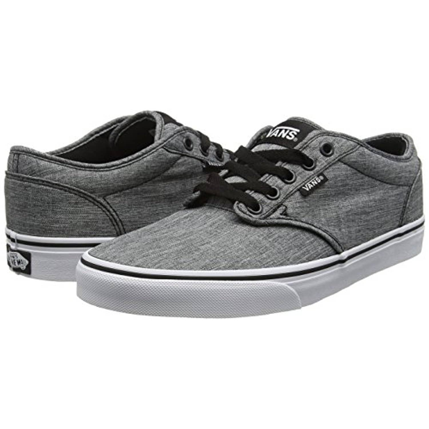 b2310022aa6 Shop Vans Rock Textile-Black-White Atwood Shoe (Us 7