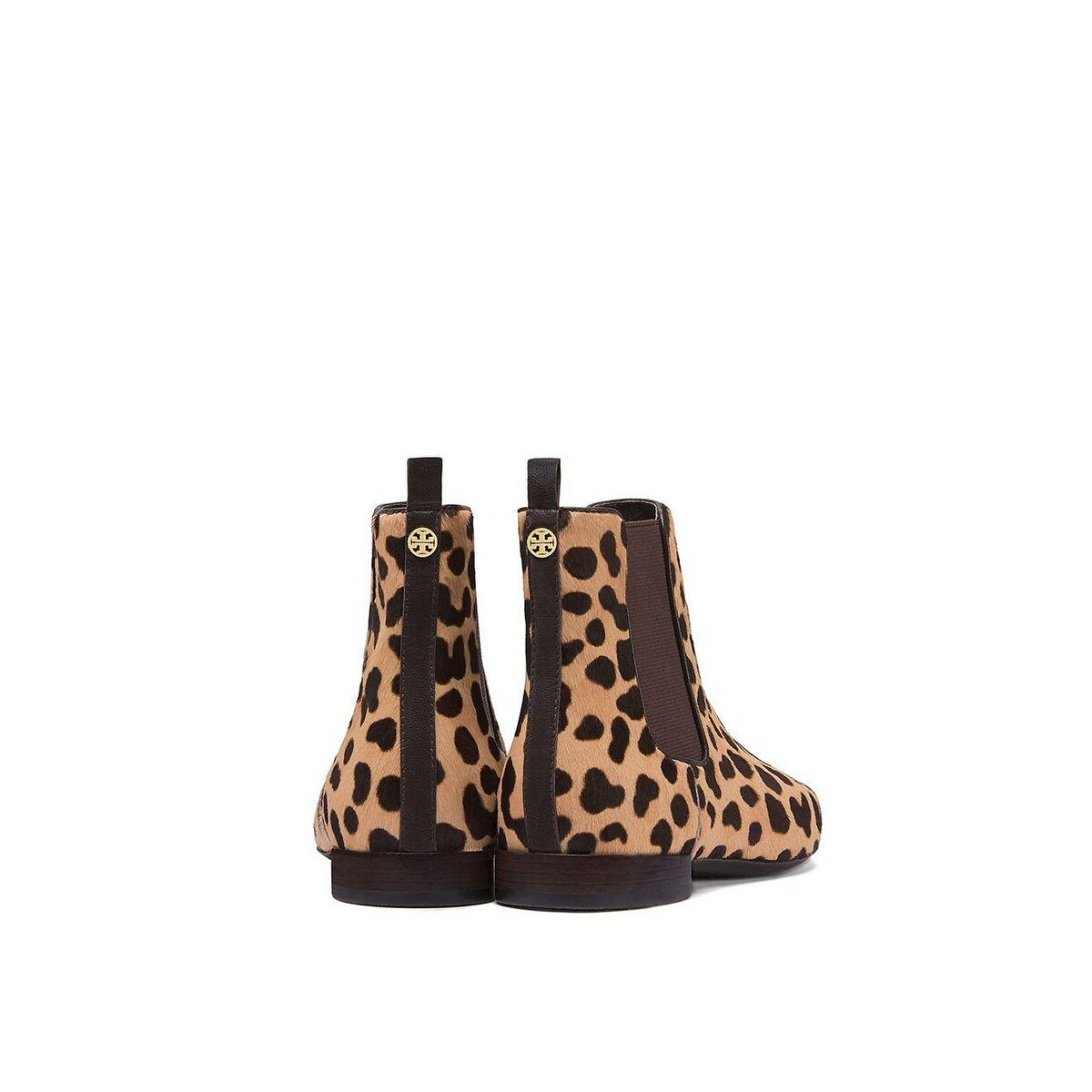 14e6354c7 Shop Tory Burch Orsay Calf-Hair Chelsea Ankle Boot Leopard Print Coconut -  Free Shipping Today - Overstock - 23159291