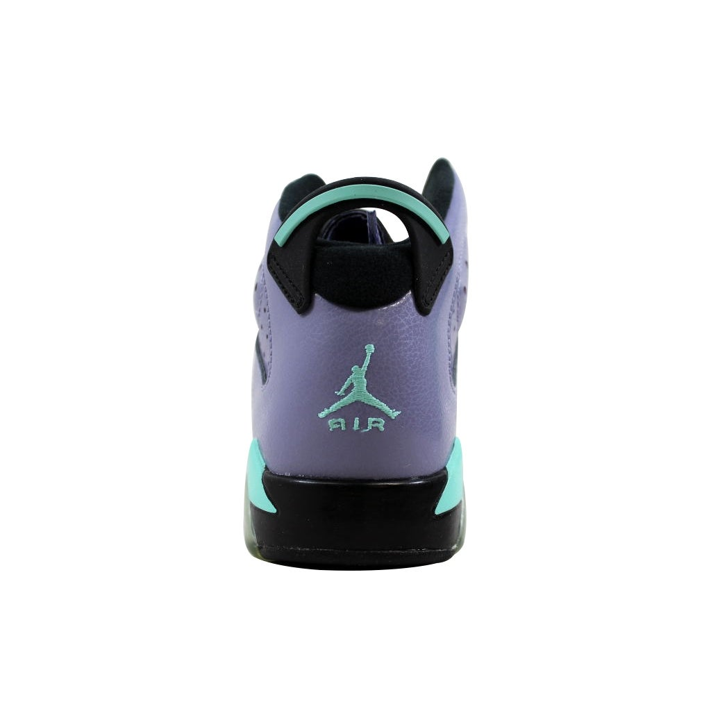 d8263432e8fd69 Shop Nike Grade-School Air Jordan VI 6 Retro GG Iron Purple Bleached  Turquoise-Black 543390-508 - Free Shipping Today - Overstock - 21893684