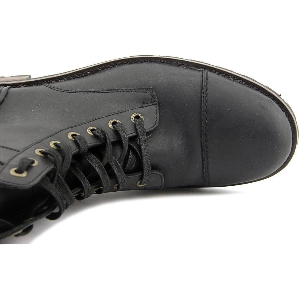 1e1a95109b9 Wolverine Reese Men Cap Toe Leather Black Boot