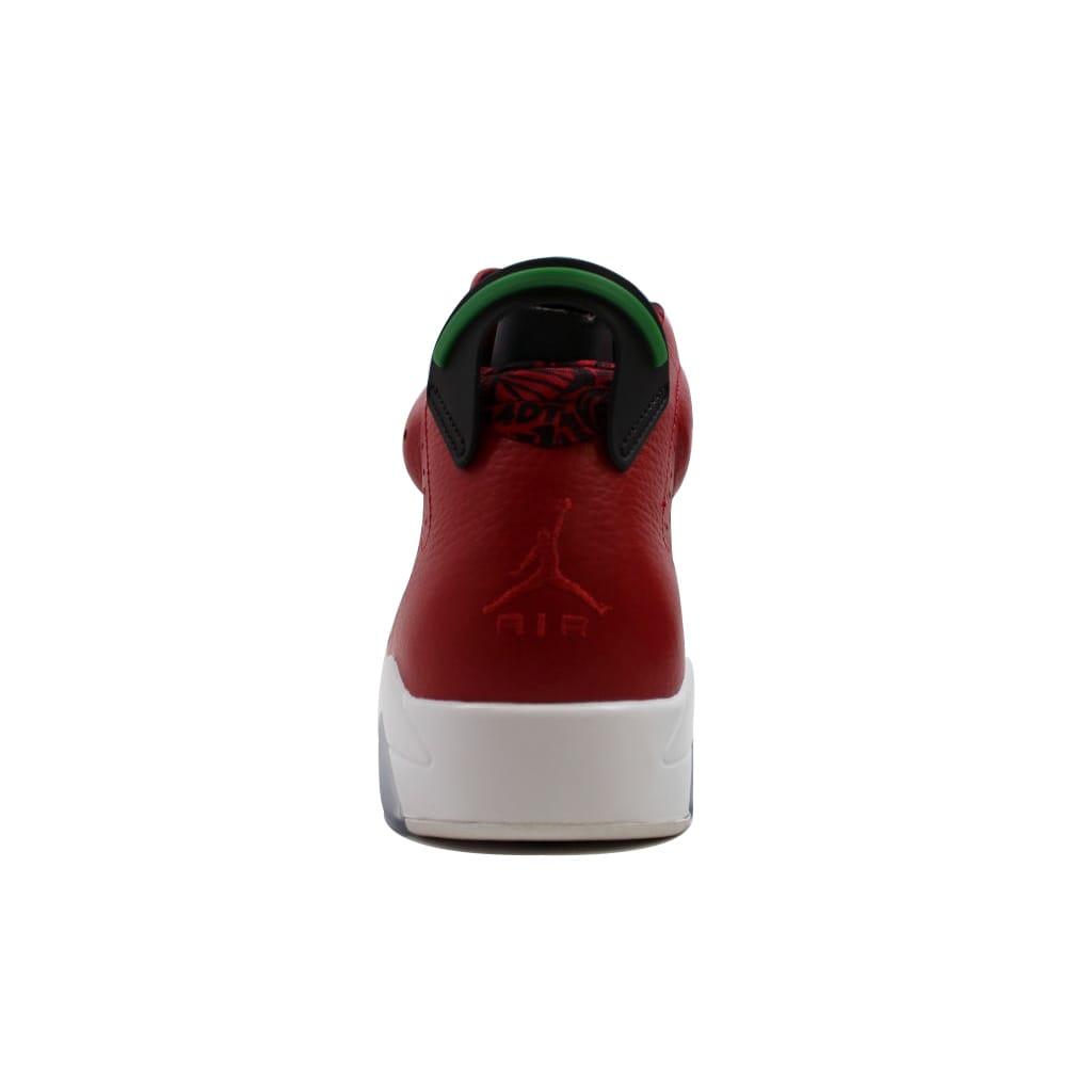 new arrival 74ccb 4c304 Shop Nike Men s Air Jordan VI 6 Retro Spiz ike Varsity Red Classic Green- Black-White History Of Jordan 694091-625 - Free Shipping Today - Overstock  - ...