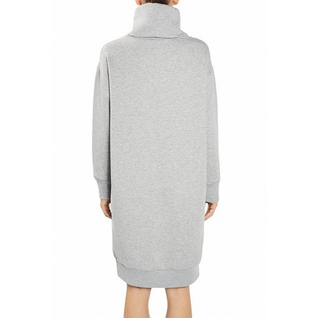 62d1188cd81 Shop TopShop NEW Heather Gray Women s Size 4 Turtleneck Knit Sweater Dress  - Free Shipping Today - Overstock - 18520956