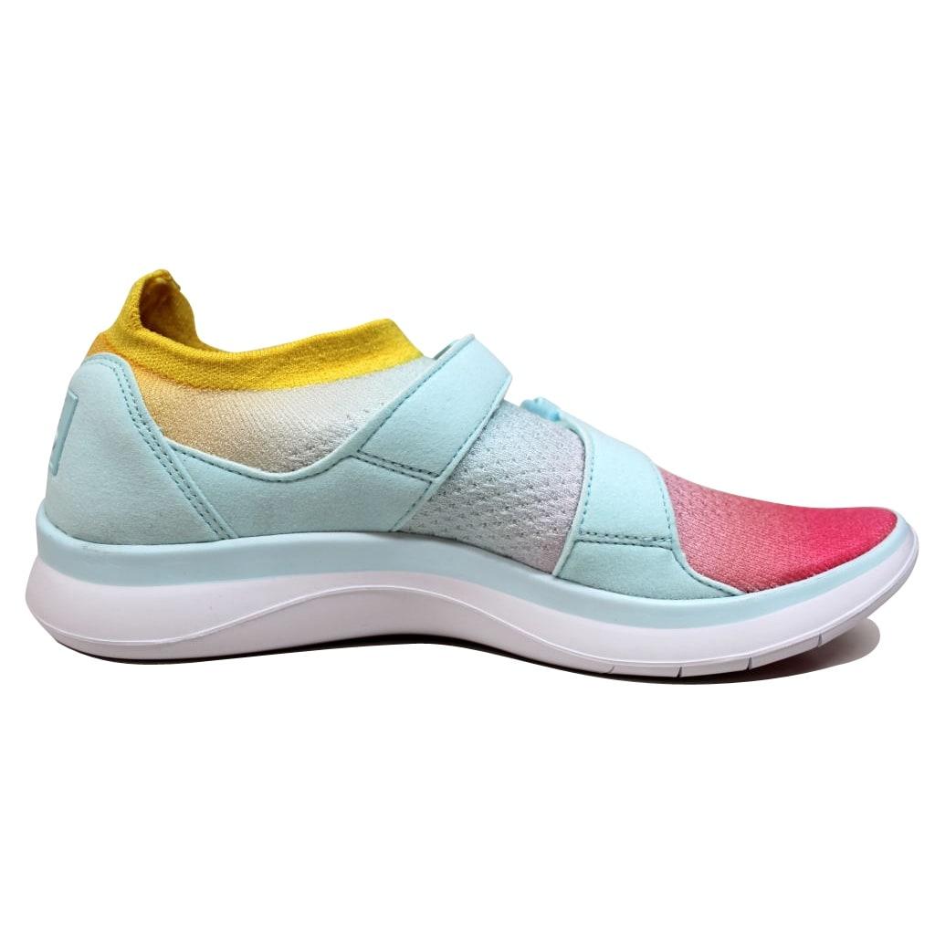 reputable site dd6c4 05916 Nike Air Sockracer Flyknit White Glacier Blue-Racer Pink 896447-100 Women s