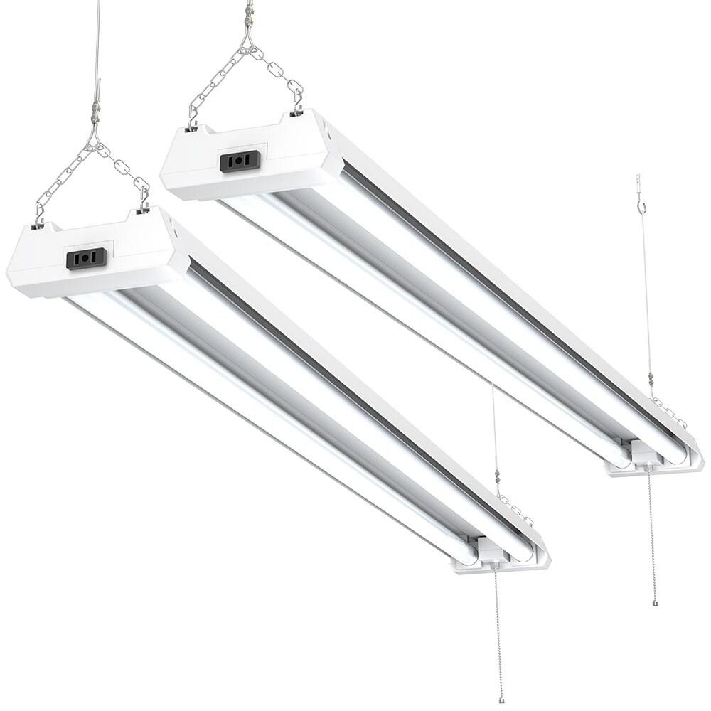4ft Led Shop Light >> Sunco Lighting 4ft Led Shop Light 40w 4000k Cool White Set Of 2