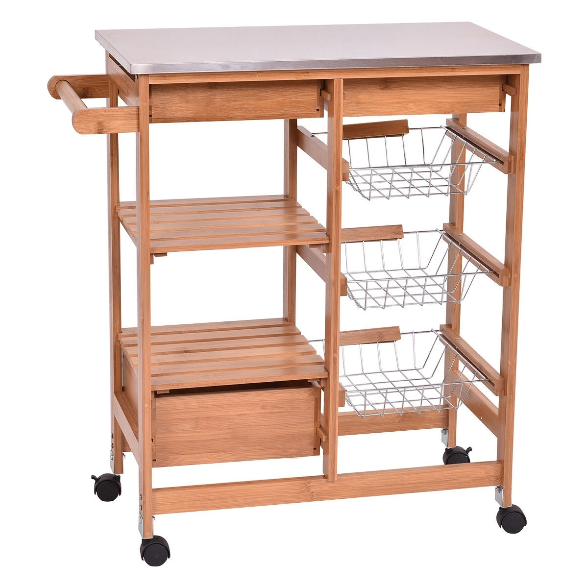 cart home with in storage wide stanton craft collection drawers drawer decorators white p