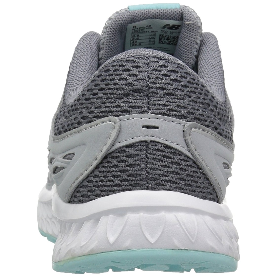78383f4abee4 Shop New Balance Women's W420V3 Running Shoe, Silver Mink/Gunmetal/Ozone  Blue Glow - Free Shipping Today - Overstock - 18276109