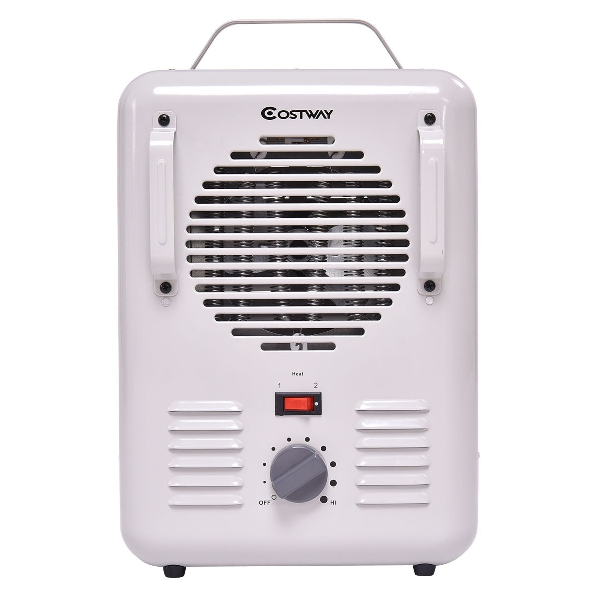 Shop Costway Electric Portable Utility Space Heater Thermostat Room ...